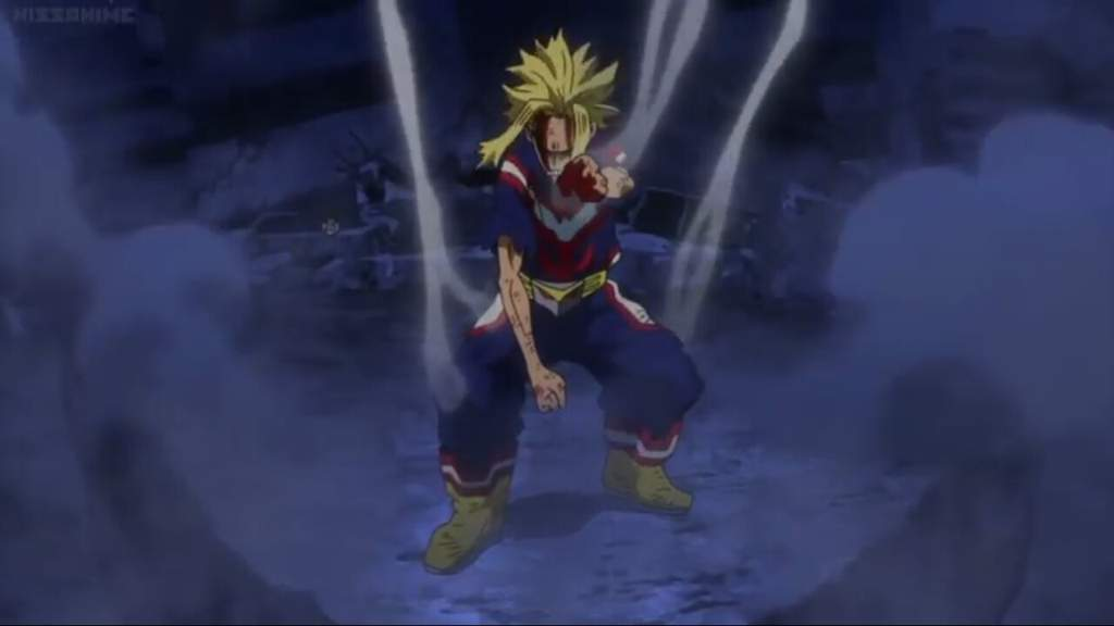 After the raid against and All Might's fight  All for one vs All Might